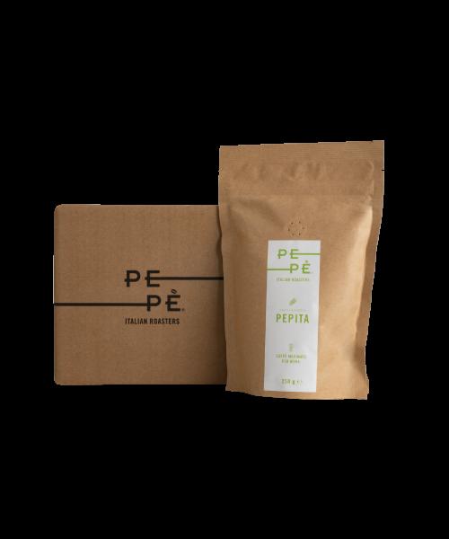 Caffè Pepè Pepita macinato, confezione da 250gr
